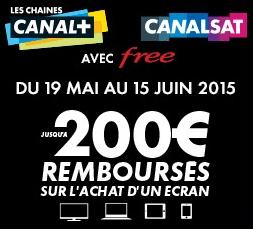 Free rembourse ses abonnés jusqu'à 200€ sur l'achat d'un écran