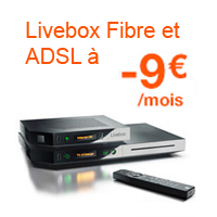 Orange offre 9€/Mois de remise sur les Livebox pendant 1 an