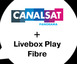 Profitez d'une réduction avec une offre Livebox Fibre et un abonnement à CANALSAT Panorama