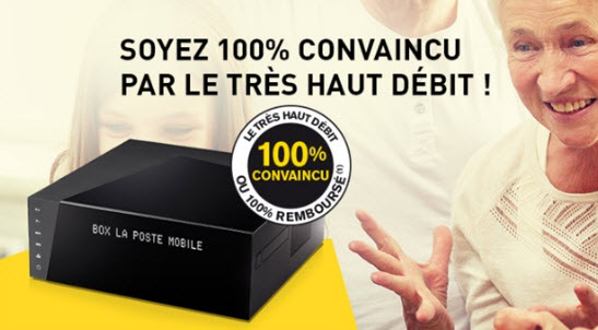 La Poste Mobile prolonge la promo sur la BOX Internet THD avec TV