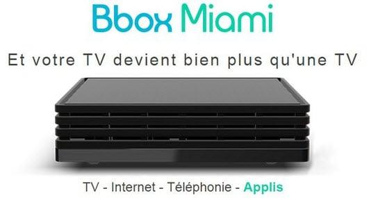 Nouvelle promo Bouygues Telecom : la Bbox Miami Fibre à 14.99 euros par mois
