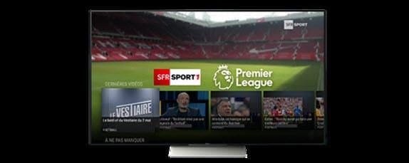 SFR Sport désormais disponible sur les TV connectées et décodeurs Android TV