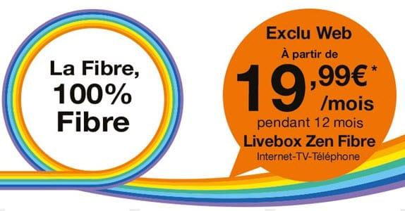 Les BOX Internet ADSL ou Fibre en promo à partir de 19.99 euros chez Orange