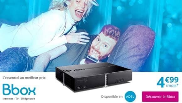 Nouveauté : Une Série Spéciale Box à 4.99 euros chez Bouygues Telecom