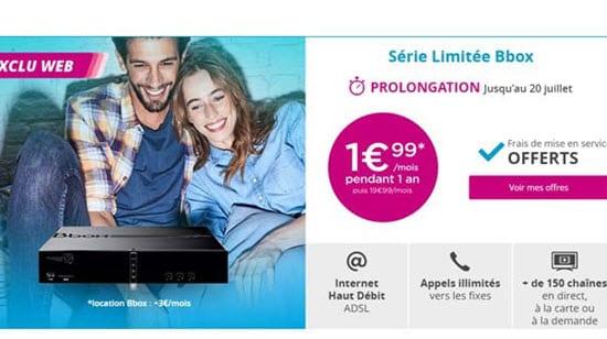 Surprise Bouygues Telecom : Une Série Spéciale Bbox à 1.99 euros par mois
