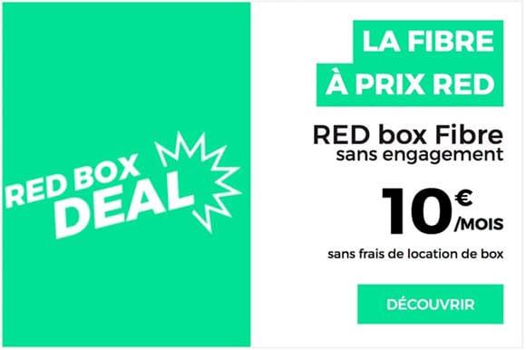 Tentez l'expérience de la Fibre, sans engagement avec RED by SFR