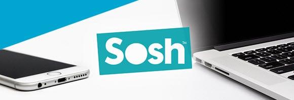 Les offres livebox et mobile de l'opérateur SOSH By Orange en promo à partir de 24.99 euros