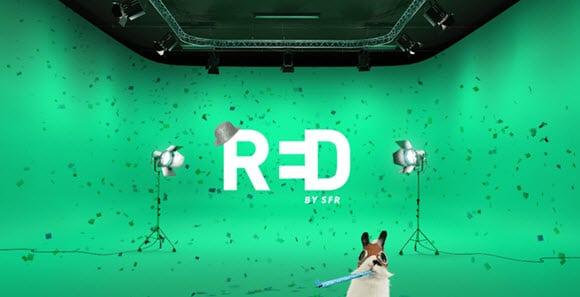 Craquez pour la Fibre chez RED by SFR à 10 euros par mois et pas seulement la première année !