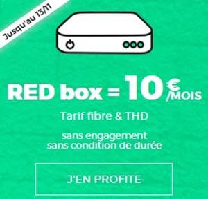 Prolongation ! La Série Spéciale RED Box à 10 euros disponible jusqu'au 13 novembre