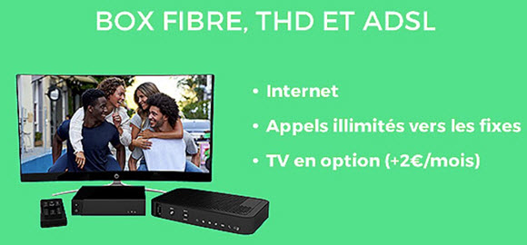 La RED Box FIBRE ou ADSL à 10€/mois à VIE jusqu'au 13 novembre