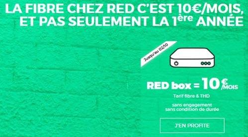Promo: La Série Spéciale RED Box encore à 10 euros par mois à VIE