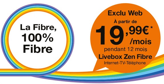 Promo Orange : les offres livebox ADSL ou Fibre à partir de 19.99 euros