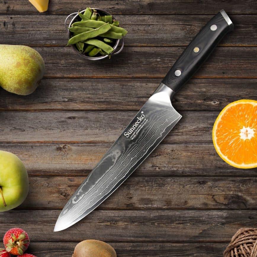 Couteaux de chef