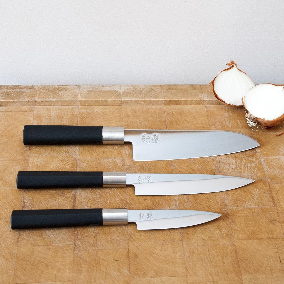 Les couteaux de chef