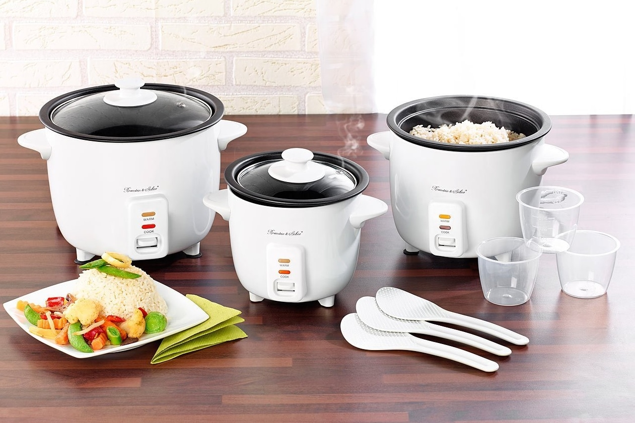 Les différentes tailles de cuiseur à riz