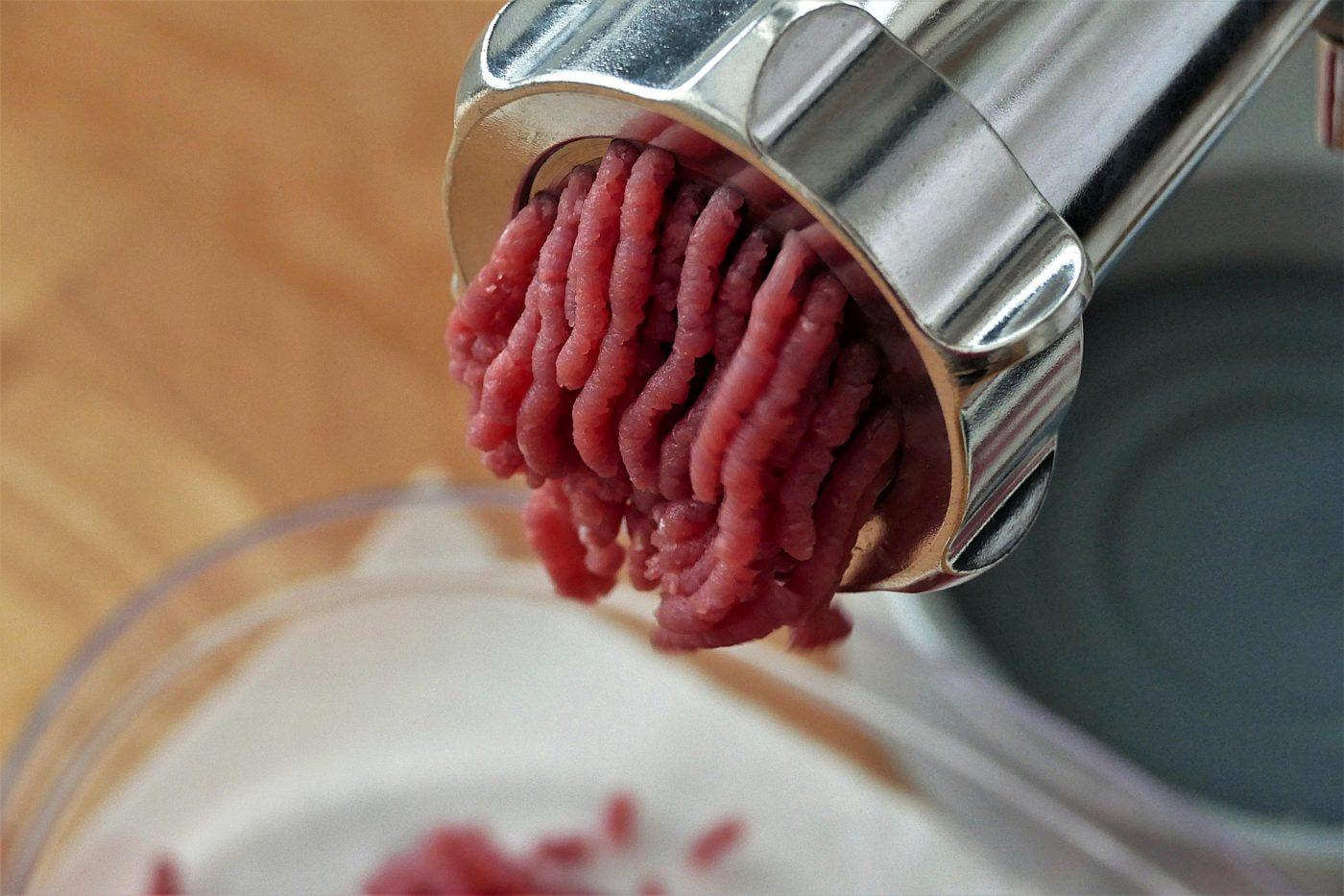 Zoom sur le hachoir à viande