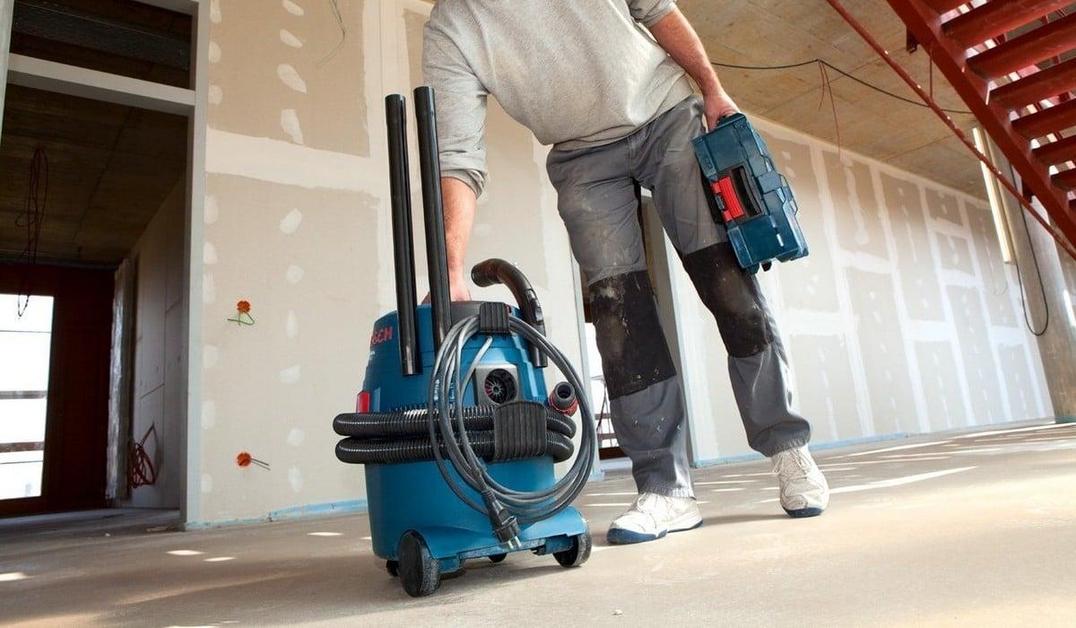 L'aspirateur de chantier
