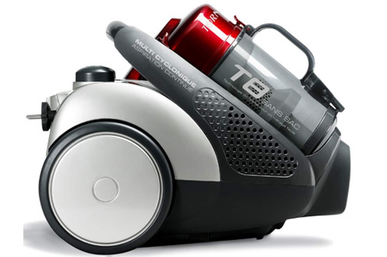 L'ergonomie de l'aspirateur sans sac