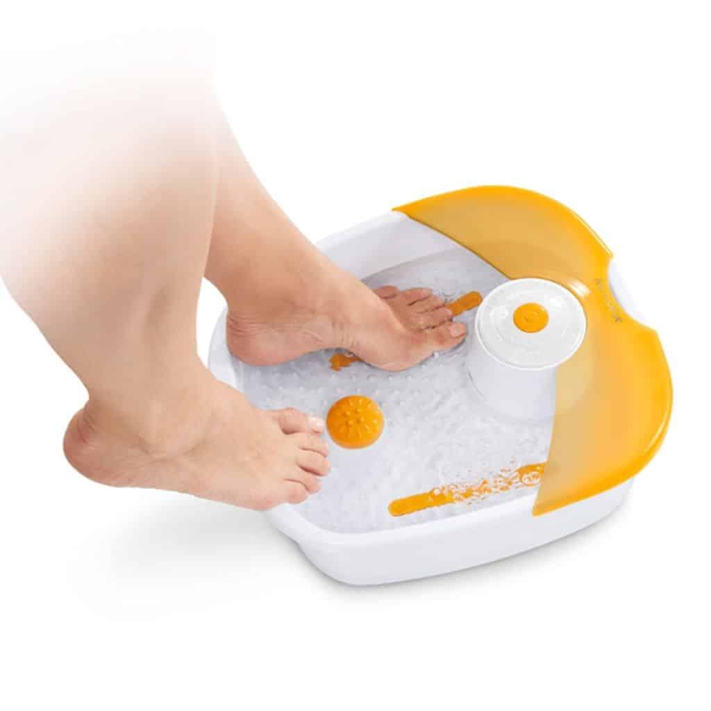 l'appareil pour faire des bains de pied