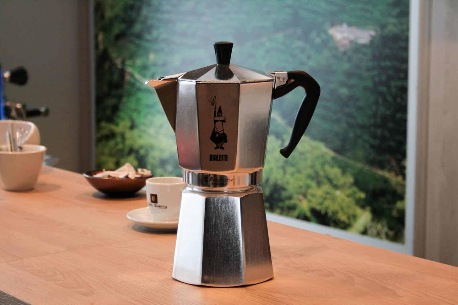 La cafetière italienne, une valeur sûre