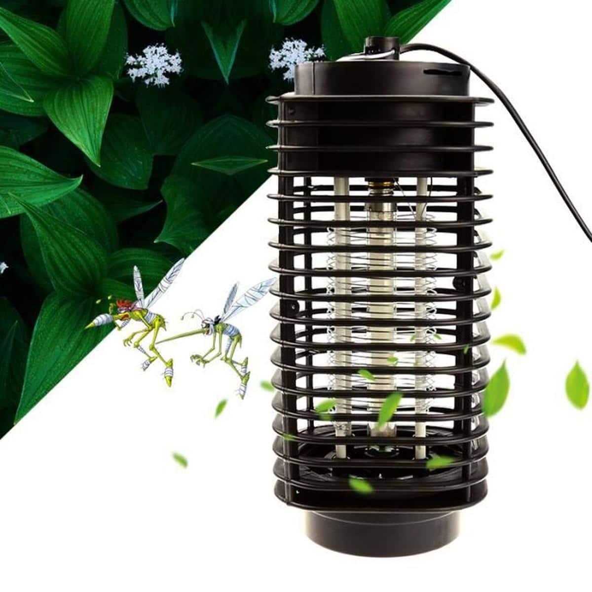 La lampe anti-moustique