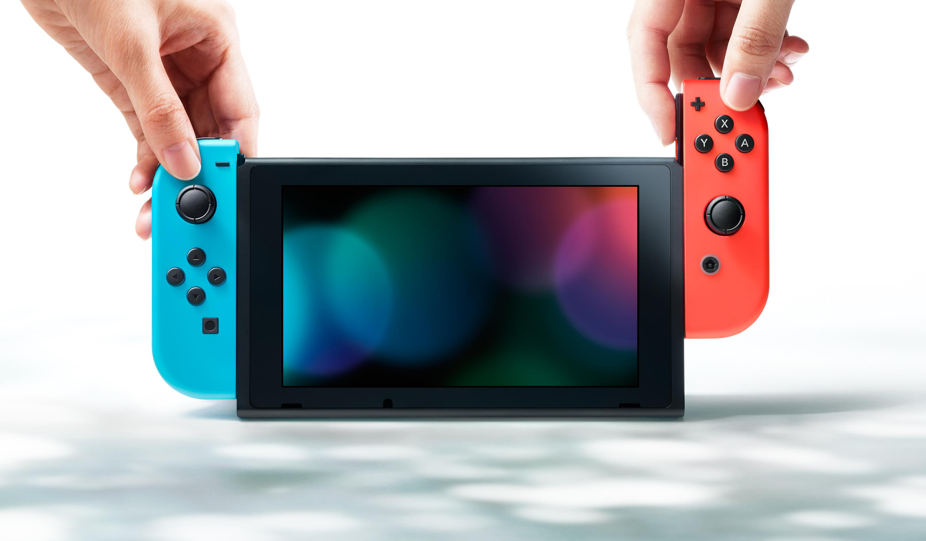 Les manettes de la Switch
