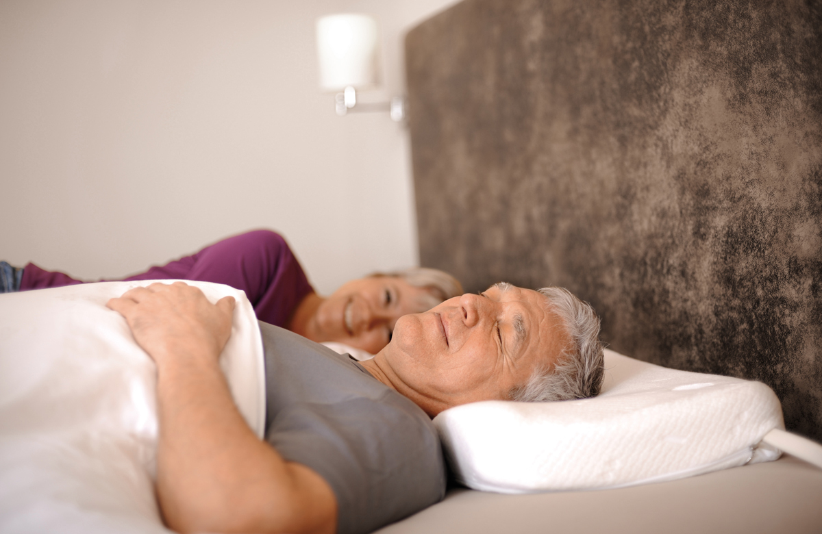 L'oreiller anti-ronflement