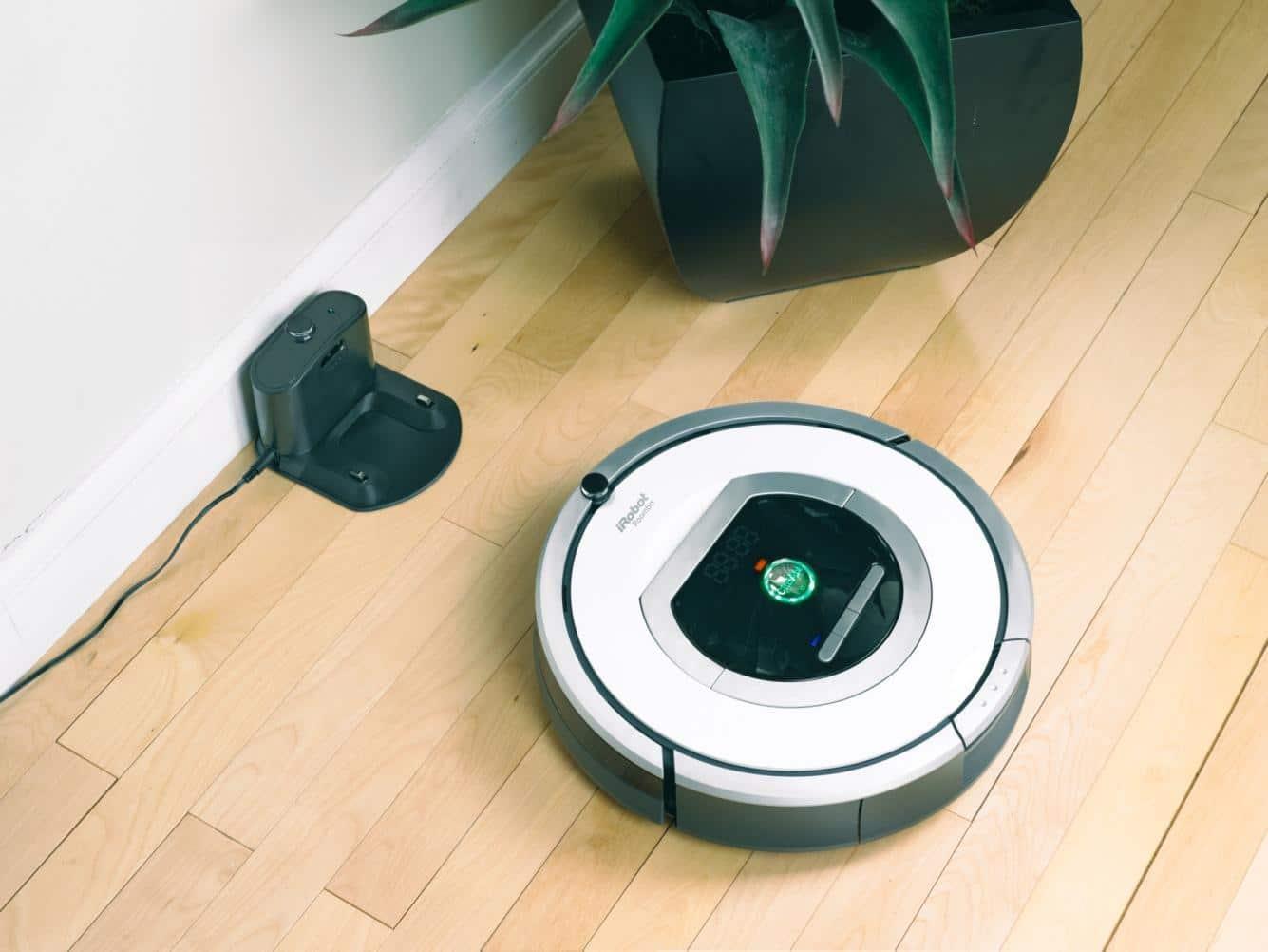 Le robot aspirateur