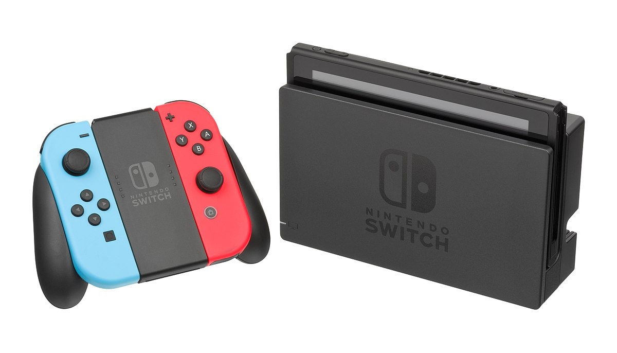 La console Switch de Nintendo