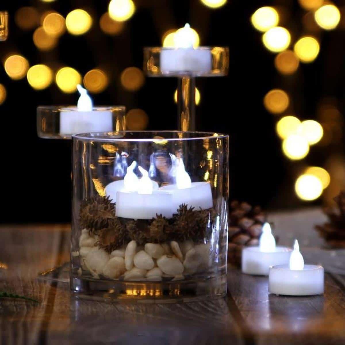 Décorer l'intérieur de votre maison grâce qu bougies LED