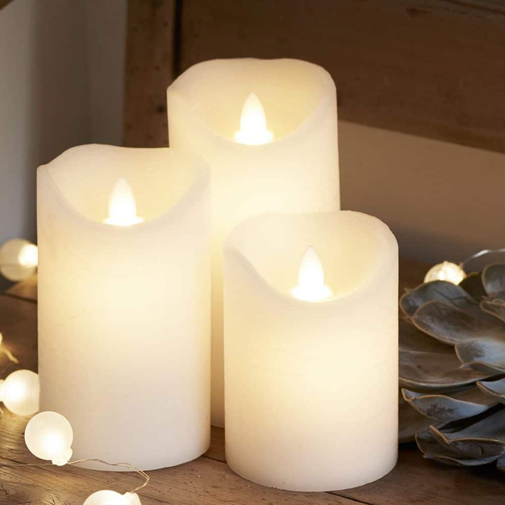 Lot de bougies LED