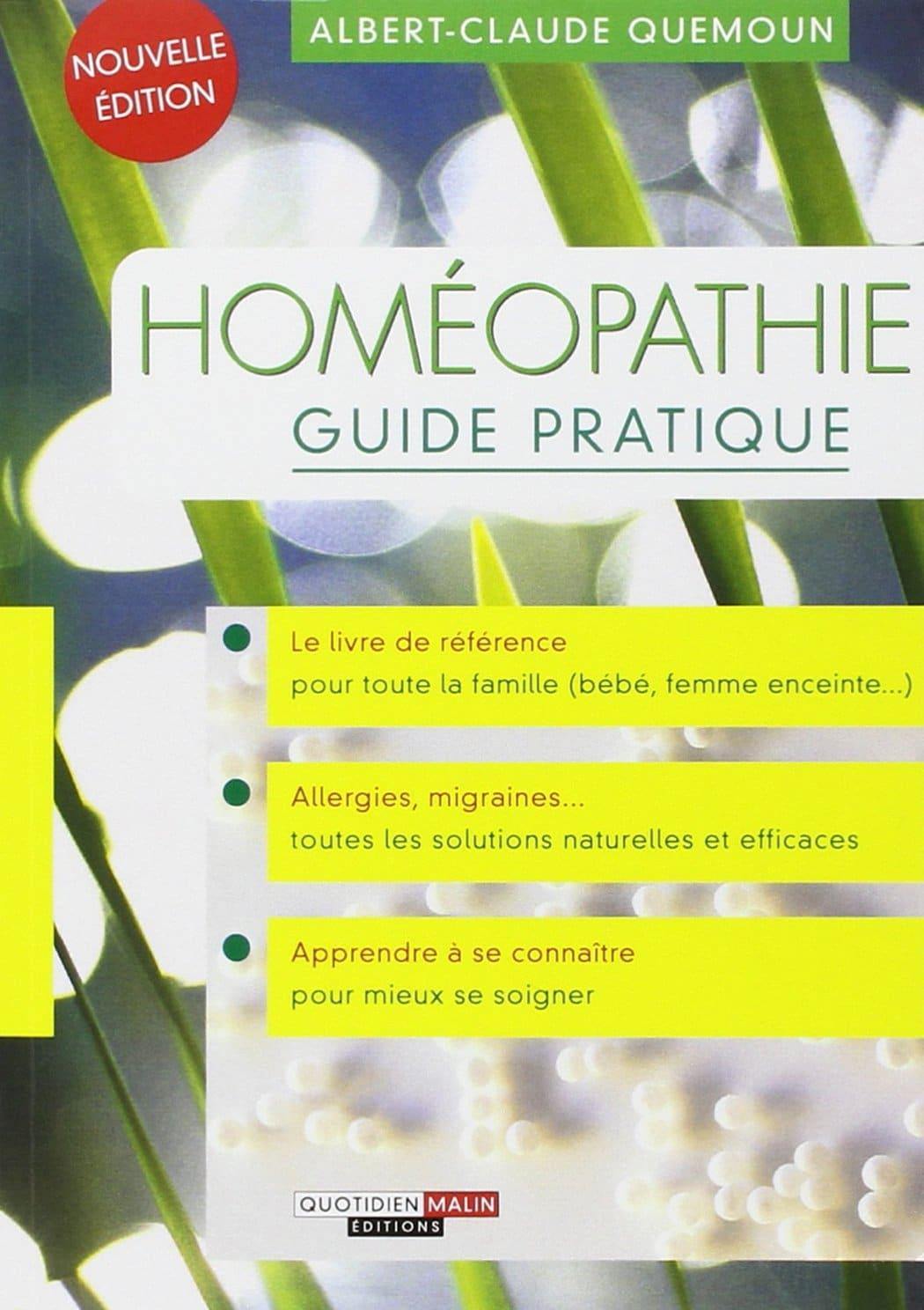 Livre sur l'homéopathie