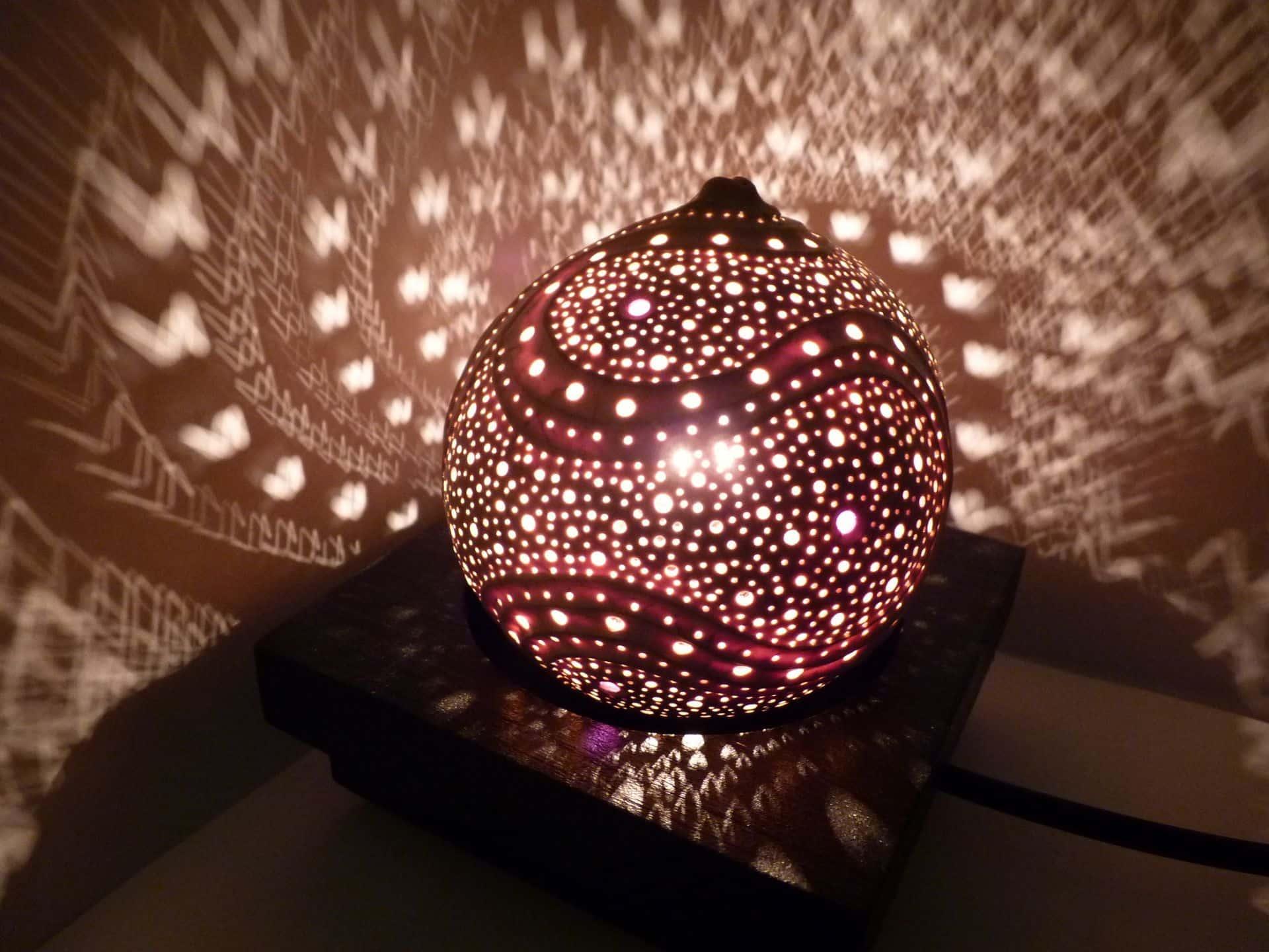 Ambiance cosy grâce à la lumière