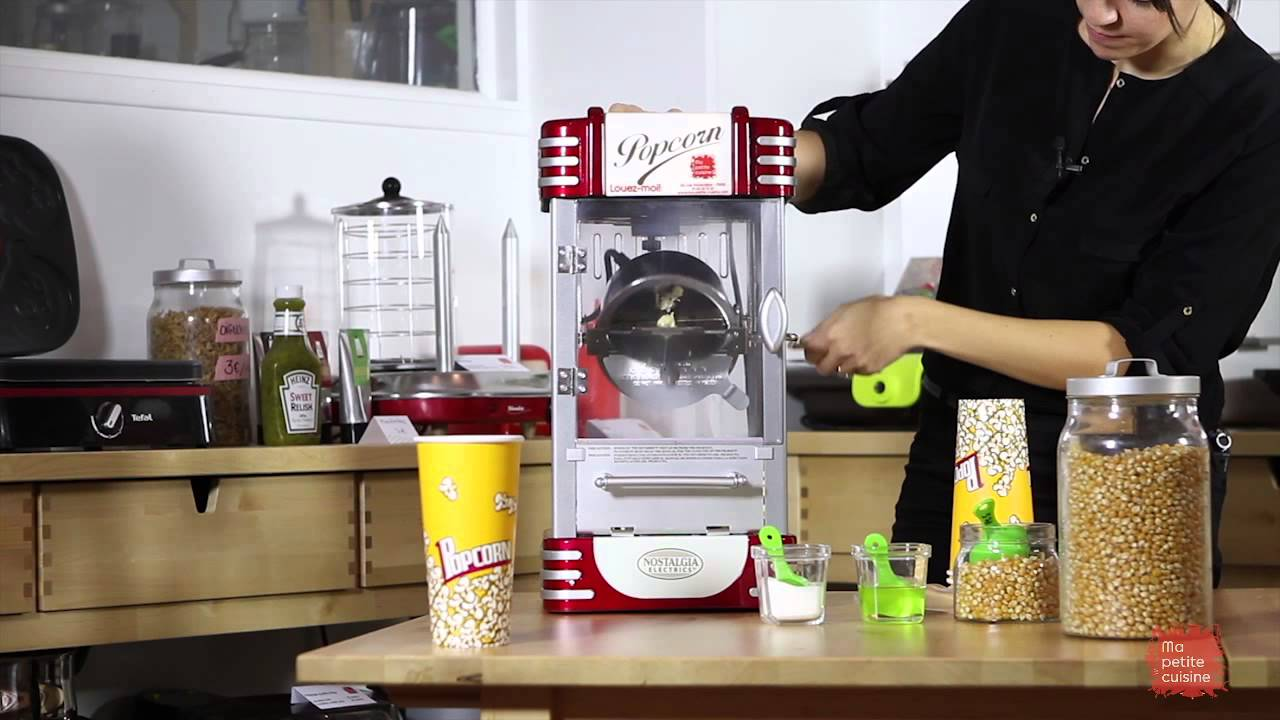 La machine à pop corn