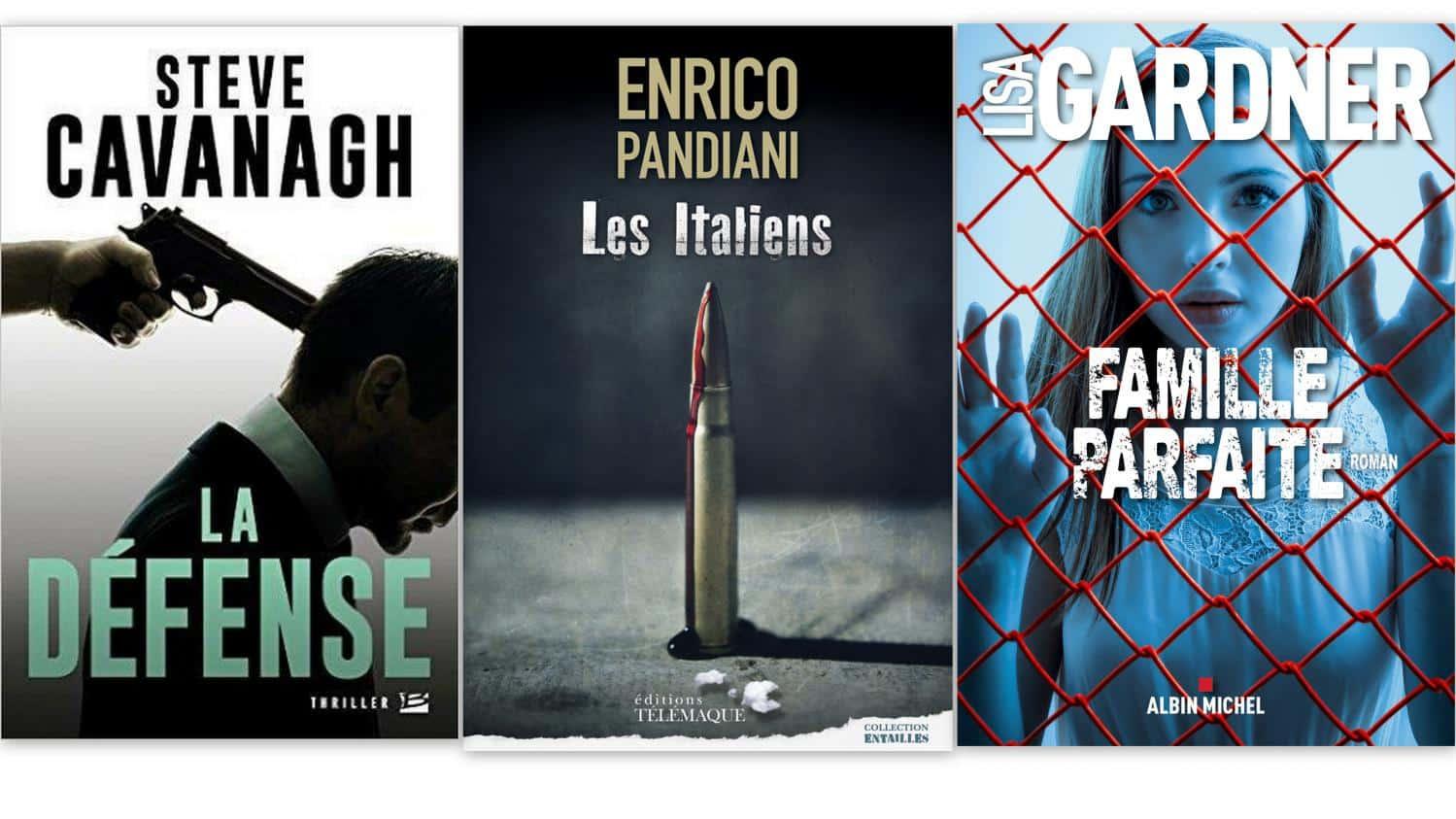 Sélection de livres policier