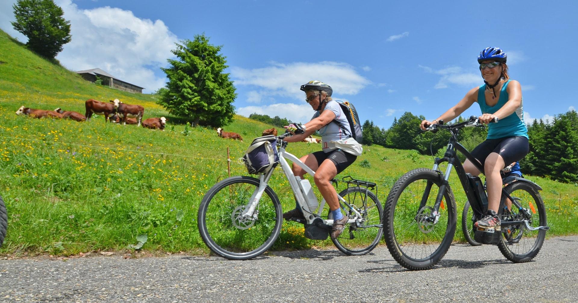 La facilité grâce au vélo électrique