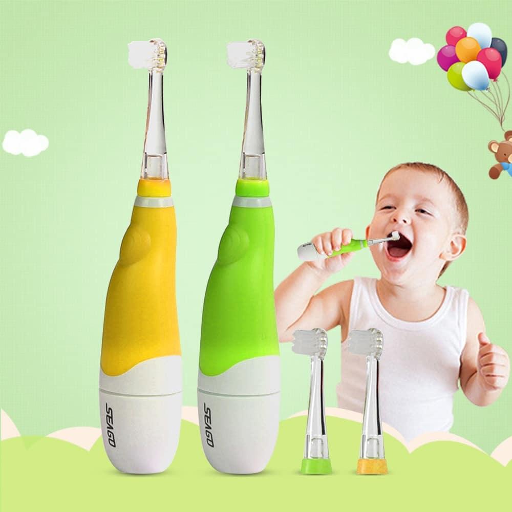 La brosse à dents électrique premier âge