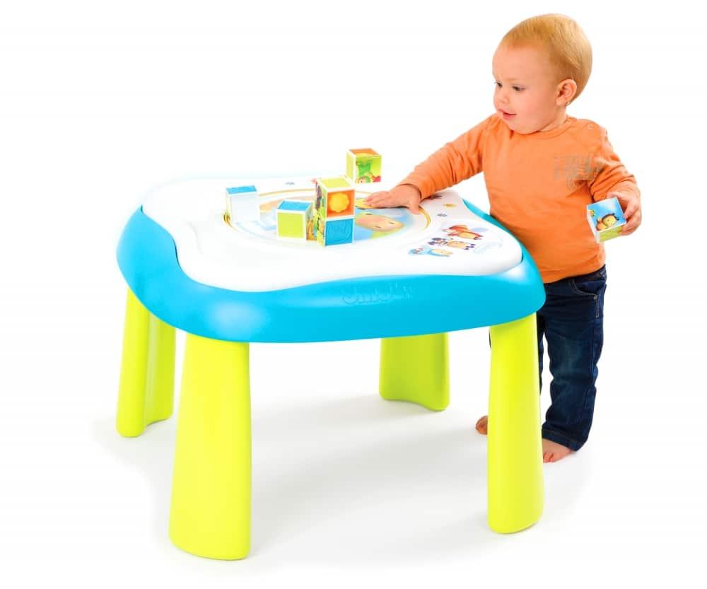 La table d'éveil