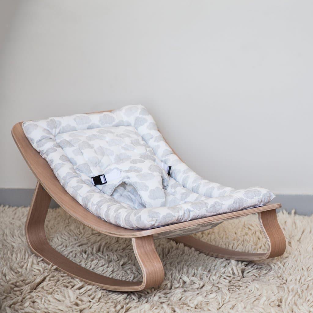transat pour bébé en bois
