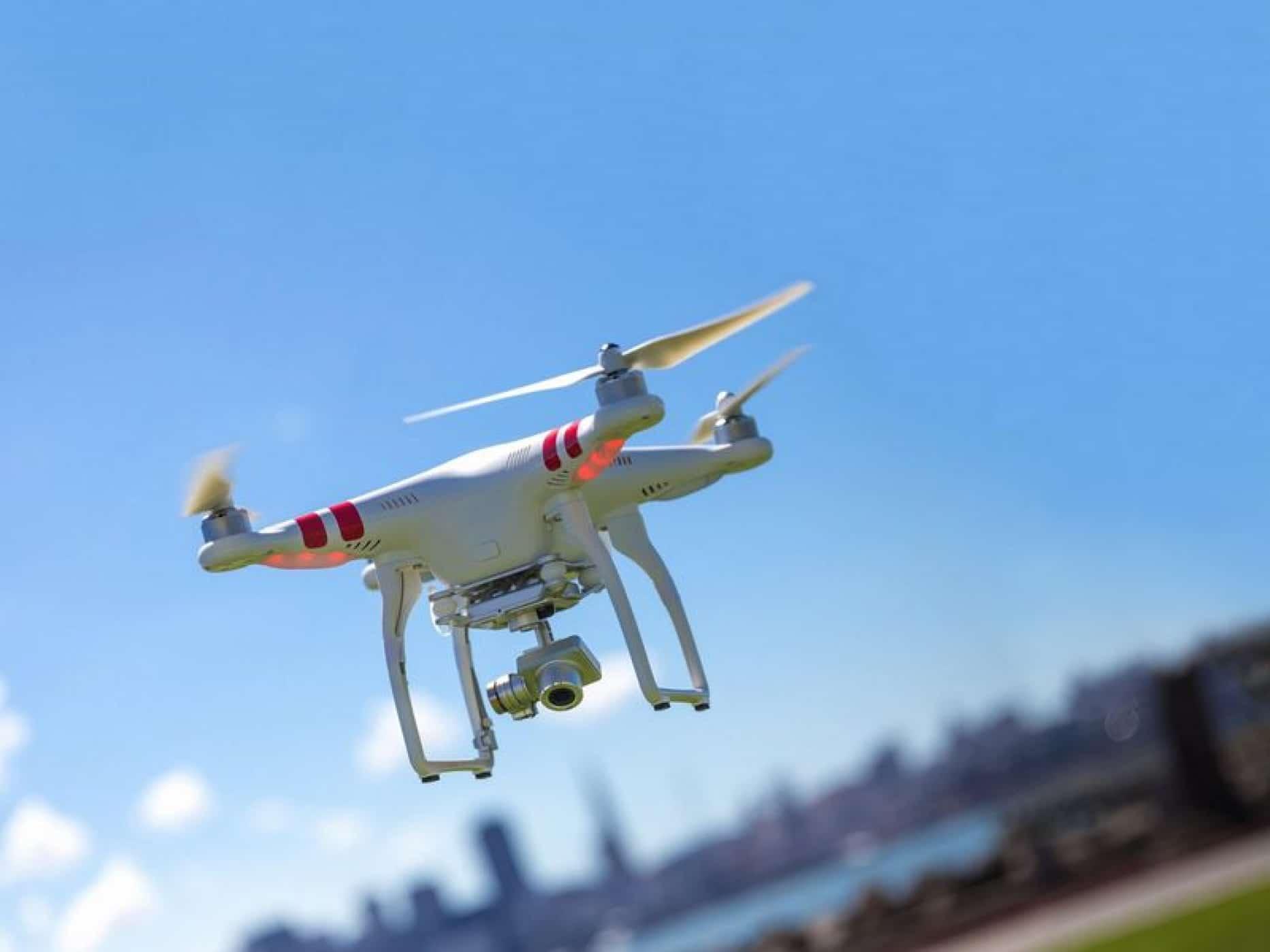 Les images 4K vue du ciel grâce au drône