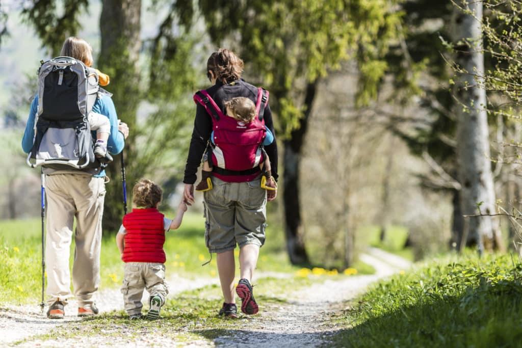 Le porte-bébé de randonnée