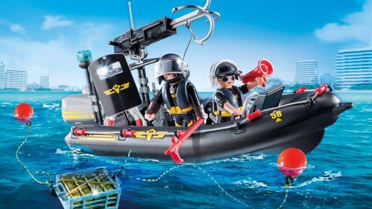 Les bateaux Playmobil