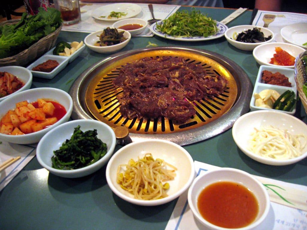 La convivialité du barbecue coréen