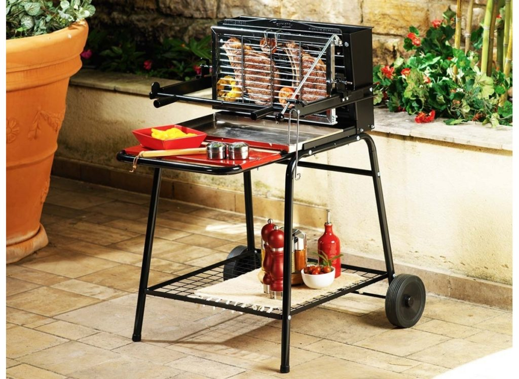 Le barbecue vertical
