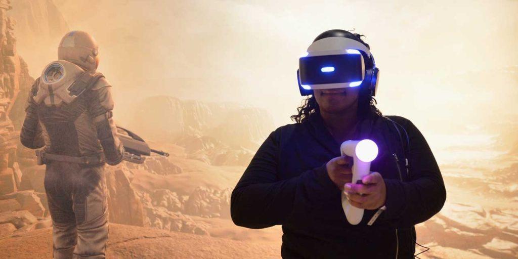 le casque de réalité virtuelle