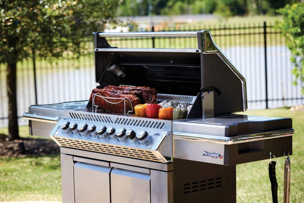 Le barbecue Napoléon