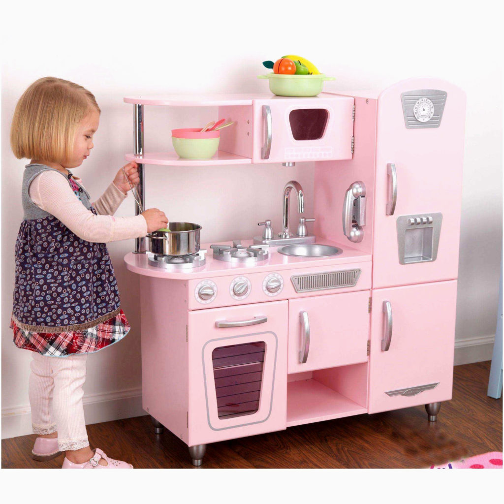 La cuisinière pour enfant très girly