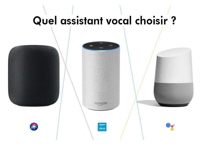 Alexa, Siri et Ok Google : La révolution des assistants vocaux