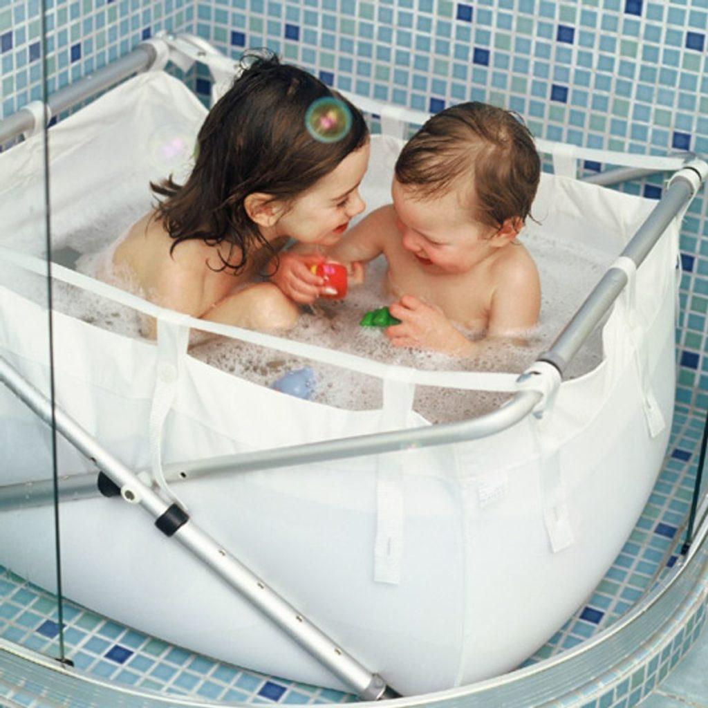 La baignoire pour bébé pliable