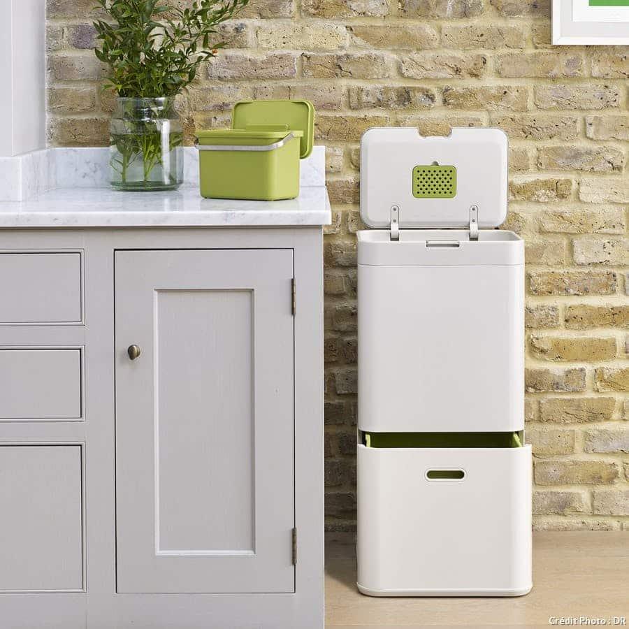 La poubelle de tri sélectif s'invite dans vos cuisines